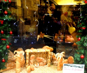 Presepe of Bread San Miniato