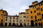 Photo of square in Lucca